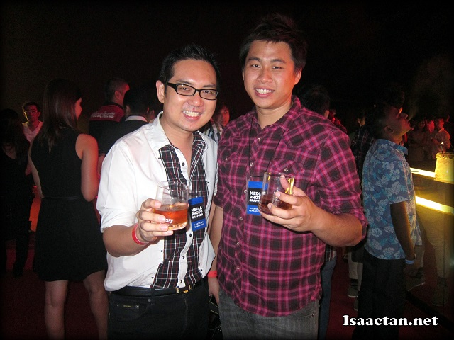 Benjamin Foo and I