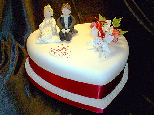Heart Shaped Wedding Cakes The Perfect Cake