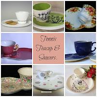 Tennic Cup & Saucer Sets