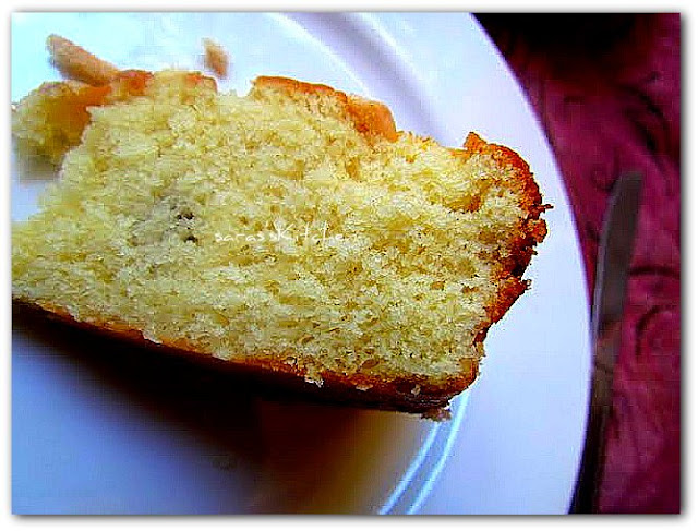 Super moist vanilla cake / Never fail cake
