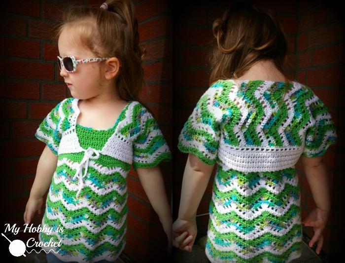 Cute Bolero Free Crochet Patterns : My Hobby Is Crochet: Tropical Waves Bolero Free Crochet ...