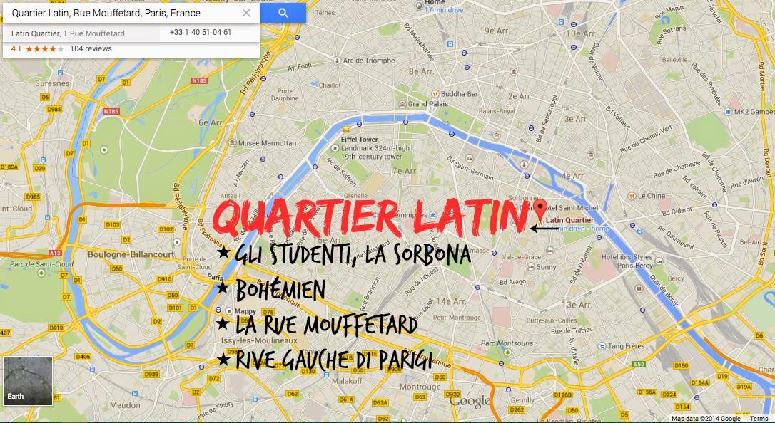 Quartier Latin - Parigi
