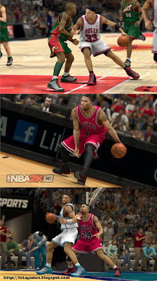 screenshot: NBA 2K13