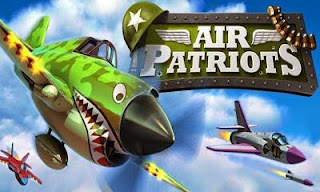 Screenshots of the Air Patriots for Android tablet, phone.