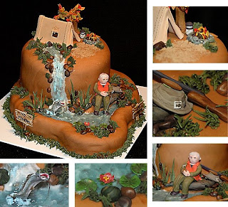 Fishing Hunting Birthday Cake Ideas
