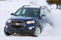 Chevrolet Captiva cu tractiune integrala 4x4