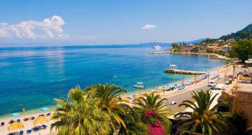 Plajă de pe insula Corfu