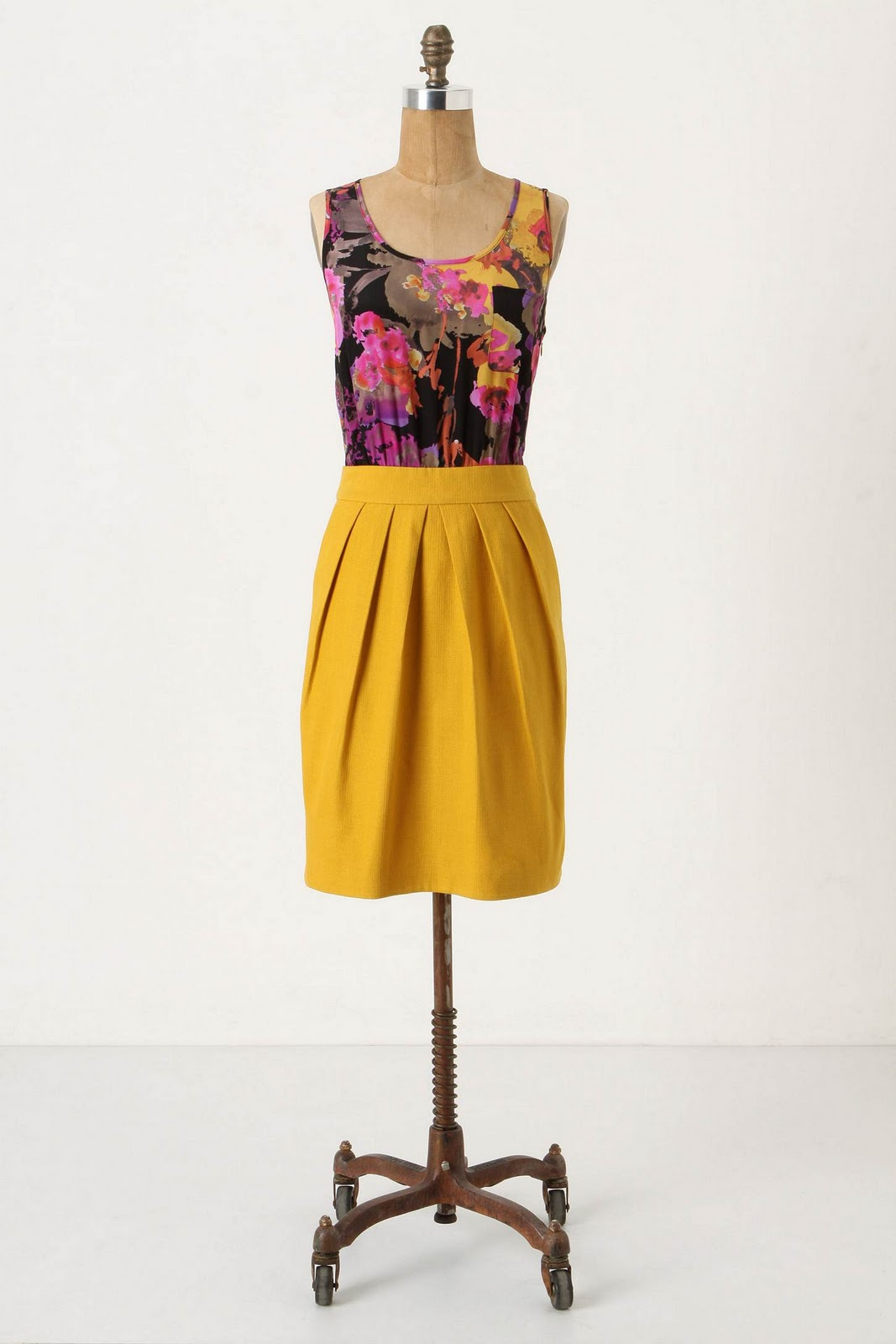 Lila Frock The Perfect Harmony Of Bright Colors And Floralcy