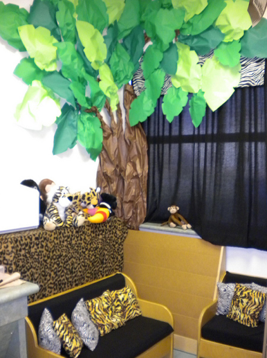 Rainforest Classroom Decor ~ Jungle safari themed classroom ideas printable