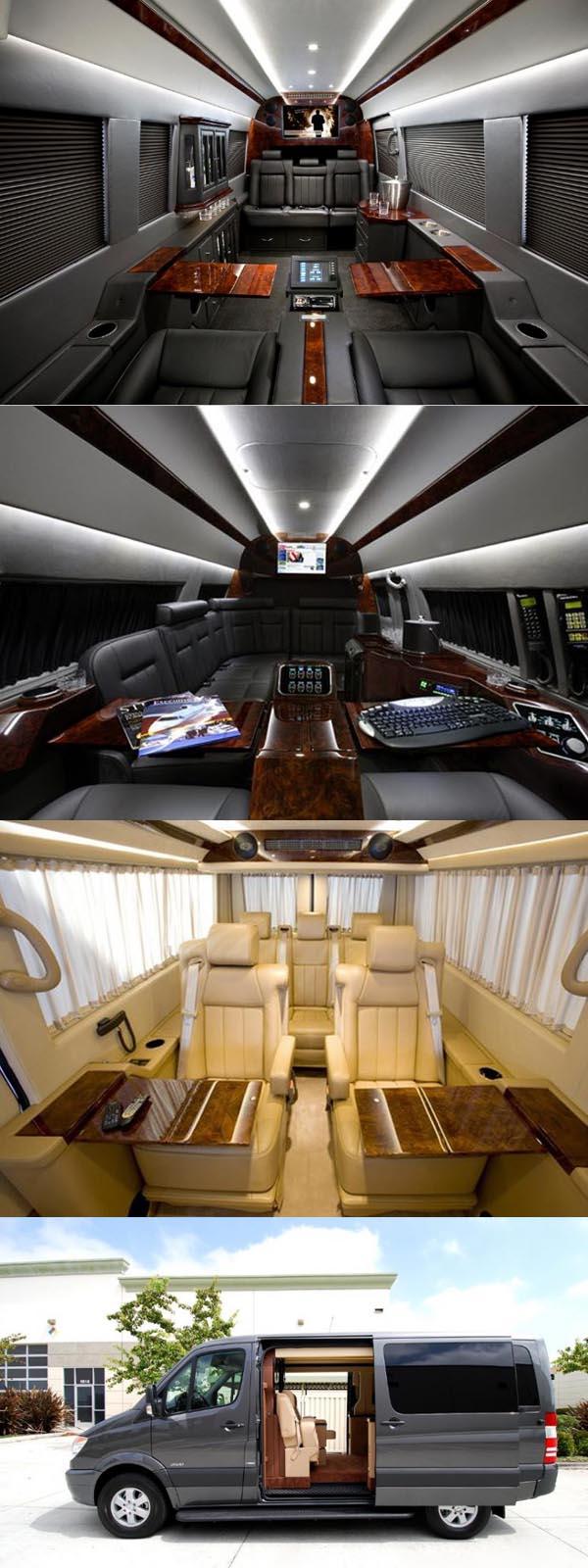 Mobil Mewah Modifikasi Mercedes-Benz Sprinter Van