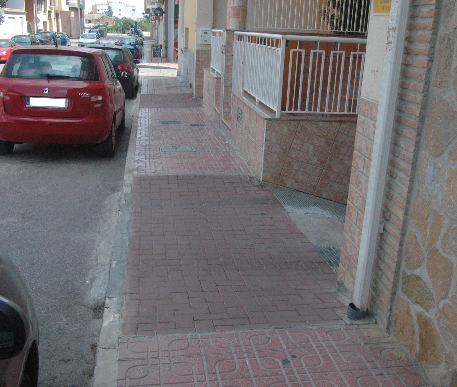 Accesibilidad y los frentes de parcela accesibilidad global - Rampas de garaje ...