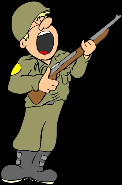 Desenho colorido Dia do Soldado