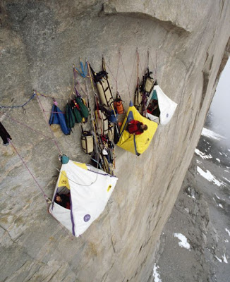 Extreme Mountain Camping Seen On www.coolpicturegallery.us