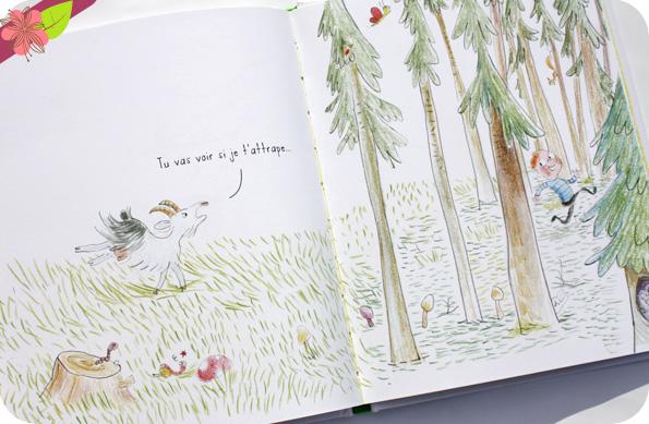 Poussin vert de Marie-hélène Lafond et Gwenaëlle Doumont - éditions La Palissade