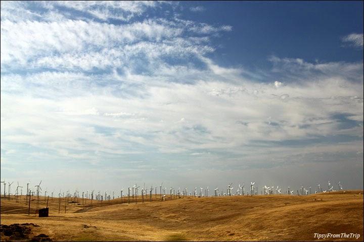 Windmills near Livermore