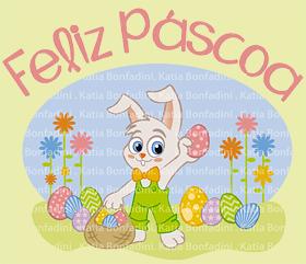 Ilustração e kit em PDF para a Páscoa