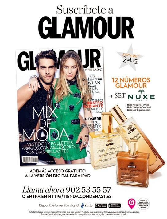Regalo por suscripción Noviembre 2014: Glamour