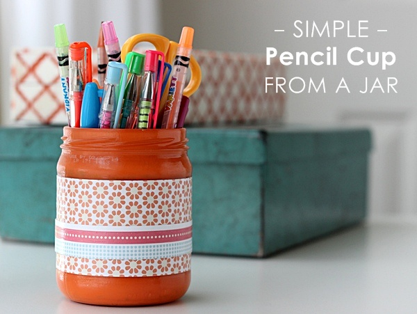 http://modpodgerocksblog.com/2013/08/simple-pencil-cup-from-a-jar.html