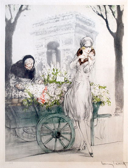 louis icart illustration