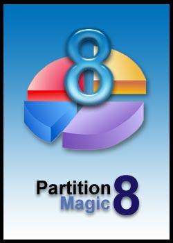 تحميل برنامج تقسيم الهارد العملاق Partition Magic 8.0 مجانا