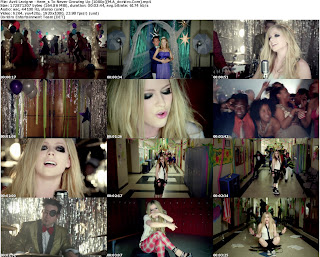 Avril Lavigne - Here's To Never Growing Up [1080p] Free Music video Download