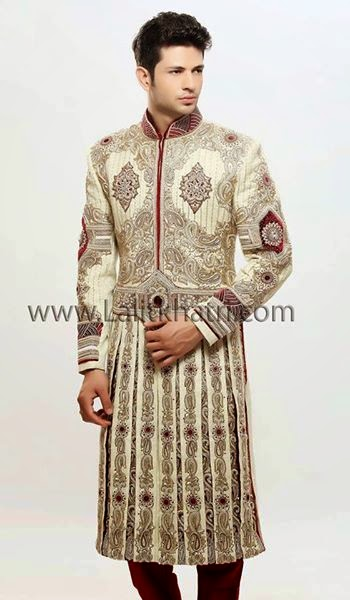 Grace in men sherwani designs launched by manish malhotra