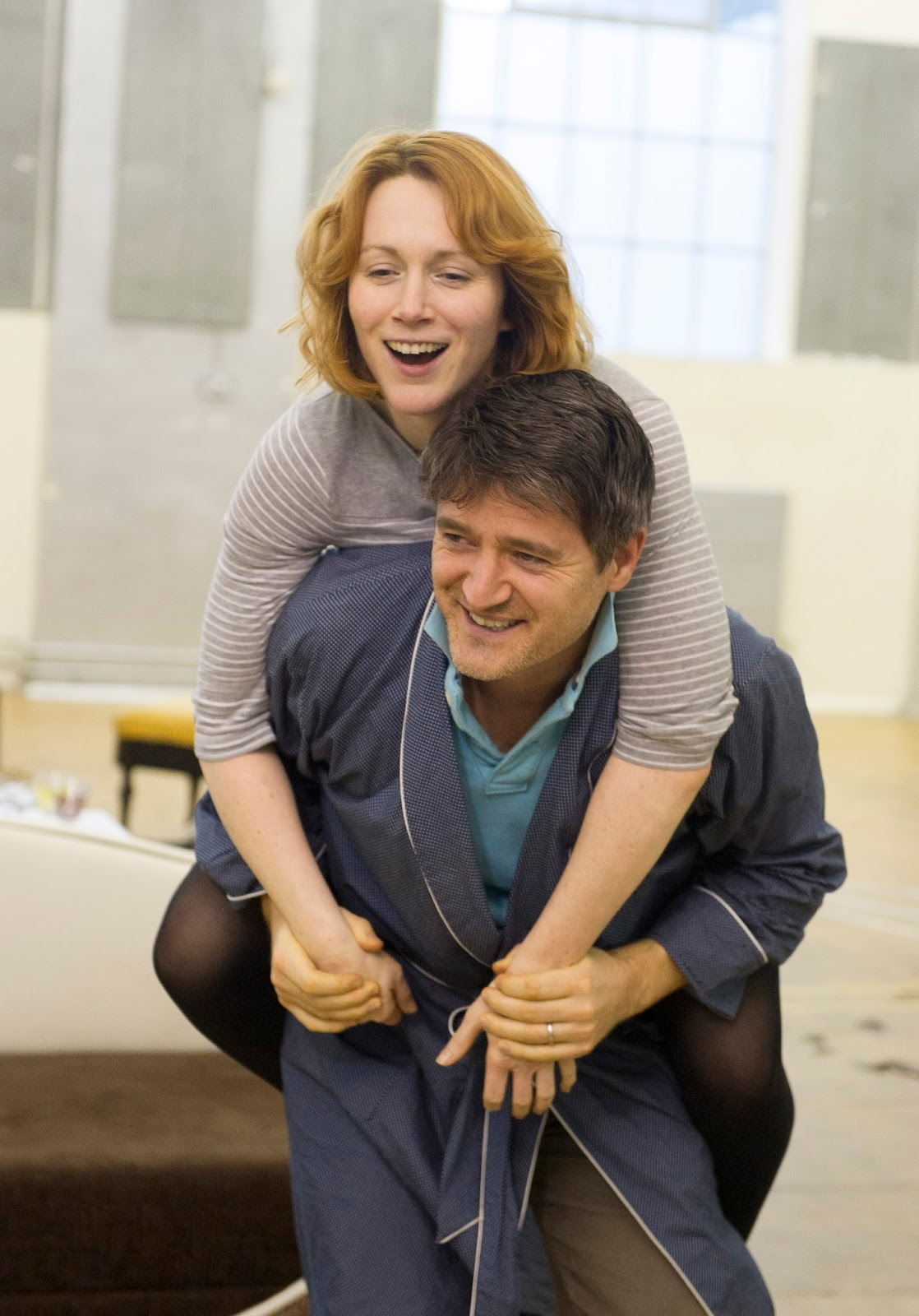 West End Frame Rehearsal Pics Private Lives starring Tom
