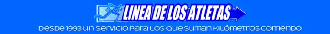 LINEA DE LOS ATLETAS