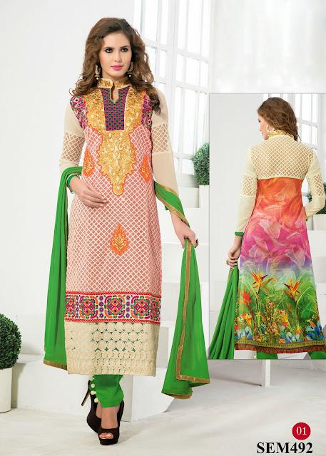 Buy Online Digital Print Long Salwar Kameez – Supplier