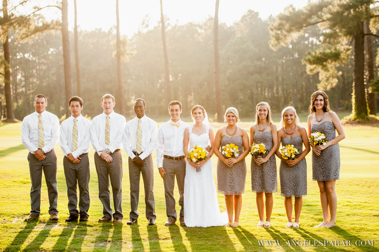 Zach And Megans Gates Four Country Club Wedding