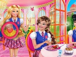 Barbie Prenses Adası Gizli Harfler Oyunu