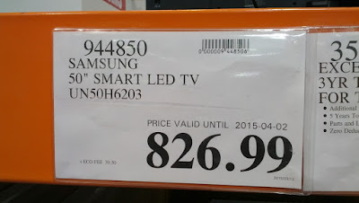 Samsung UN50H6203 50inch tv at Costco
