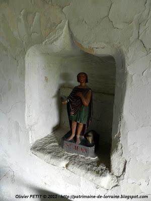 CHAMPOUGNY (55) - La Chapelle Notre-Dame des Affligés