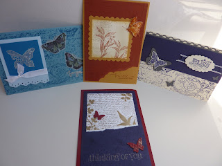 Stampin Up! Convention - Melbourne 2011 - more Butterfly Cards
