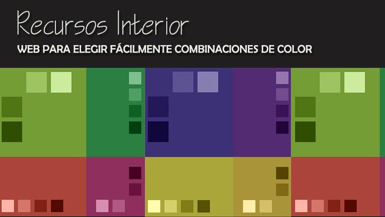 Web Para Elegir Facilmente Combinaciones De Colores Recursos - Colores-combinacion