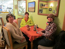 Cousins have Tea in Sequim