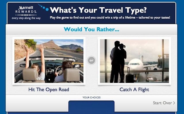 "Marriott's ""What's Your Travel Type"" Contest Ends Tomorrow"