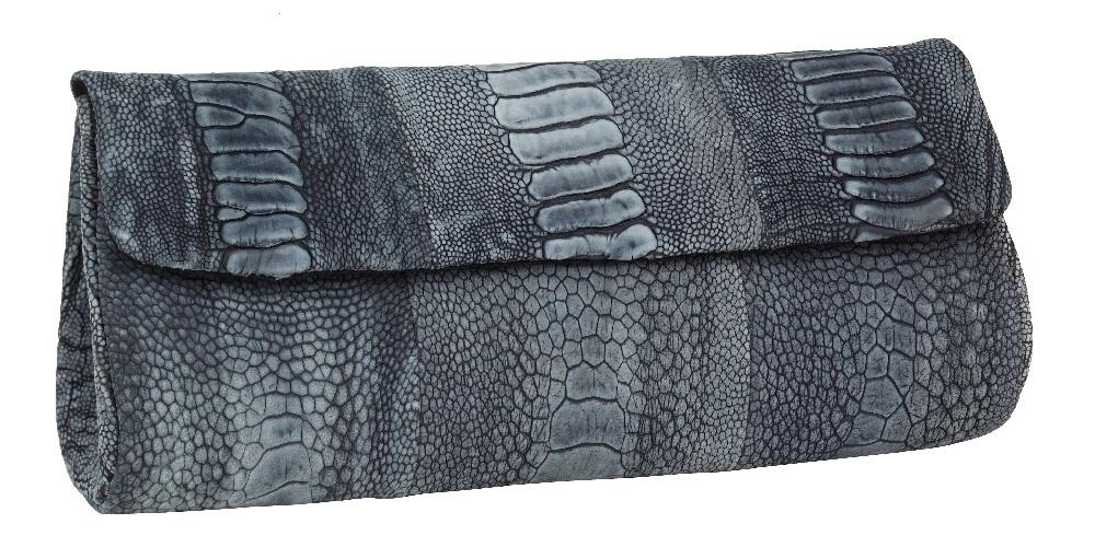 Naledi Copenhagen - Diana Brushed Ostrich Clutch Bags