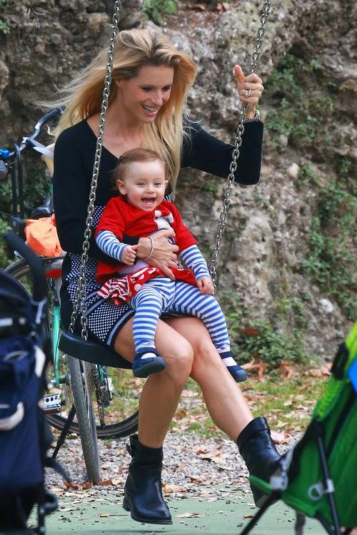 Michelle Hunziker_It rocks with the little ones