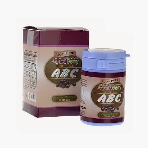 ABC Acai Berry Slimming Capsule | Toko Online Tarakan