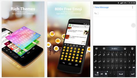 Arabic for GO Keyboard-Emoji: Download Aplikasi Keyboard Arabic for Android Gratis Terbaru