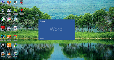 start screen, ms office 2013, word 2013