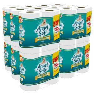 Amazon: Angel Soft Bath Tissue As Low As $0.21 Per Regular Roll Shipped
