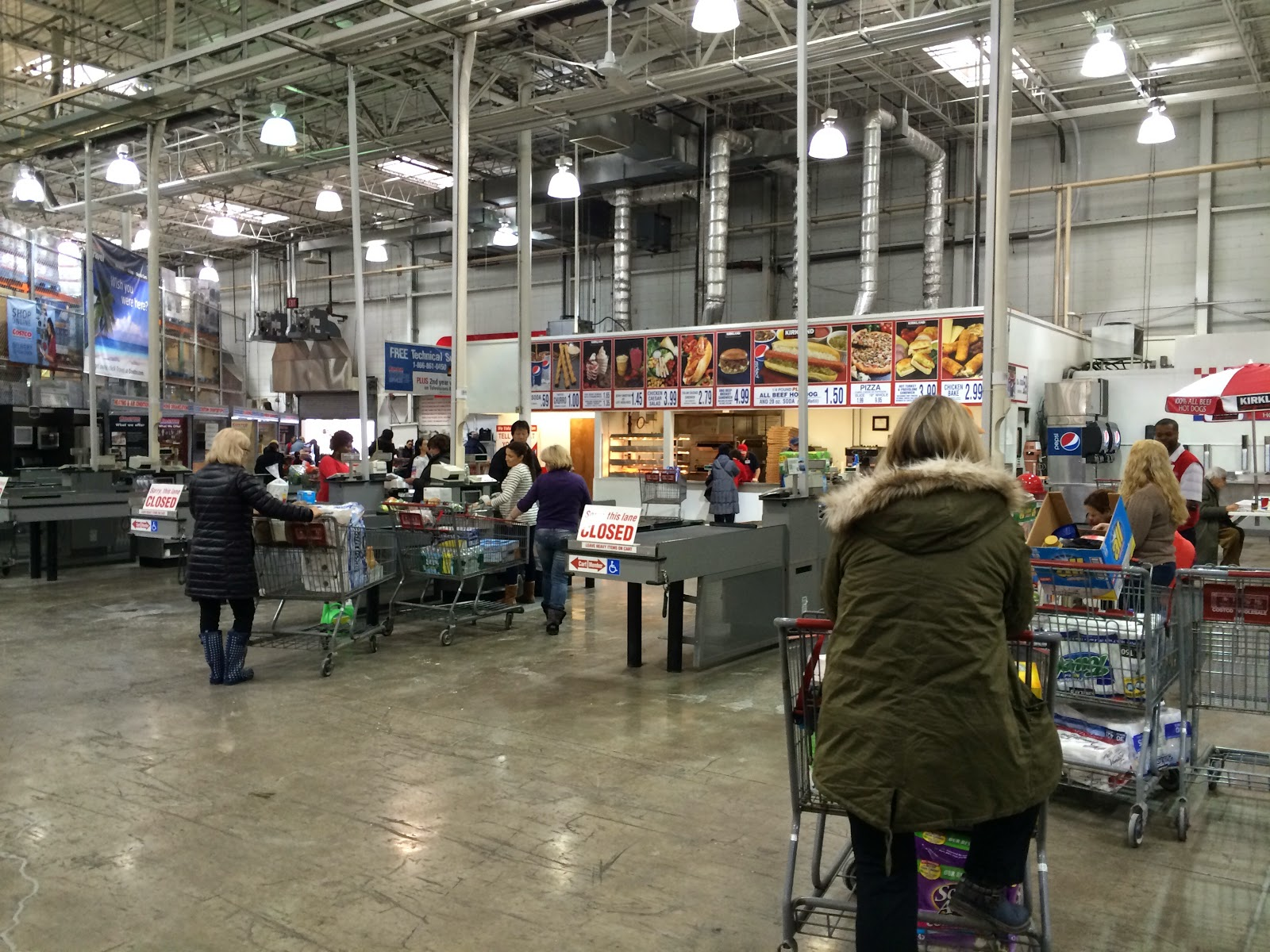 do you really know what you re eating bad weather can mean media warnings of icy roads apparently kept many shoppers away from the hackensack warehouse store on tuesday afternoon