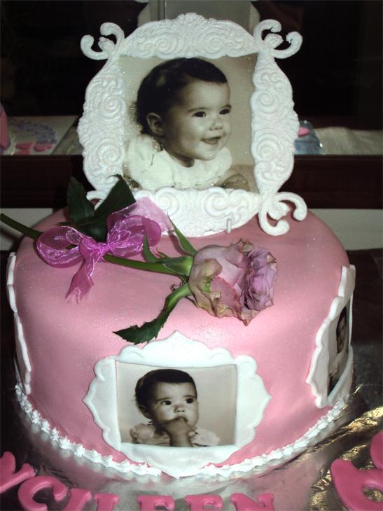 Delanas Cakes Edible Photo Frame Cake