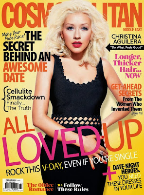 Christina Aguilera HQ Pictures Cosmopolitan Middle East Magazine Photoshoot February 2014