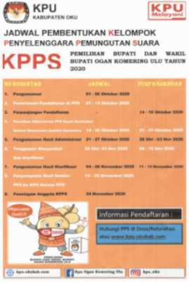 KPU Kab.OKU Pemilihan Bupati dan Wakil Bupati 2020