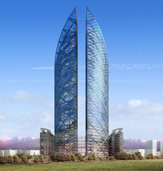 Beautiful Towers