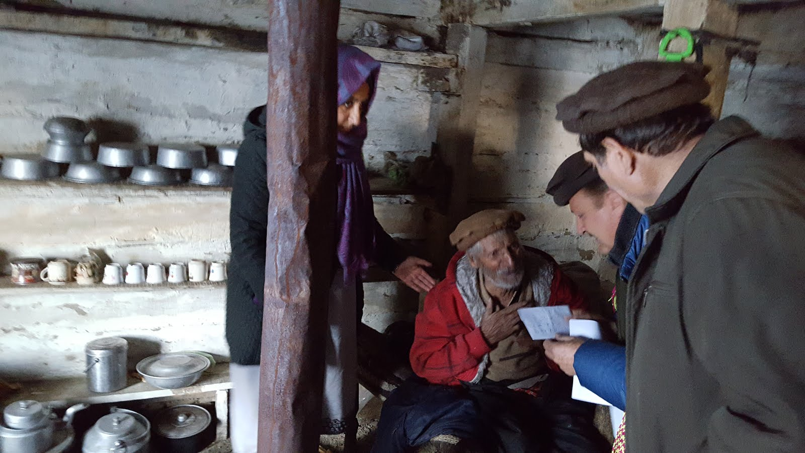 AHF RELIEF FOR KALASH VALLEY OF CHITRAL