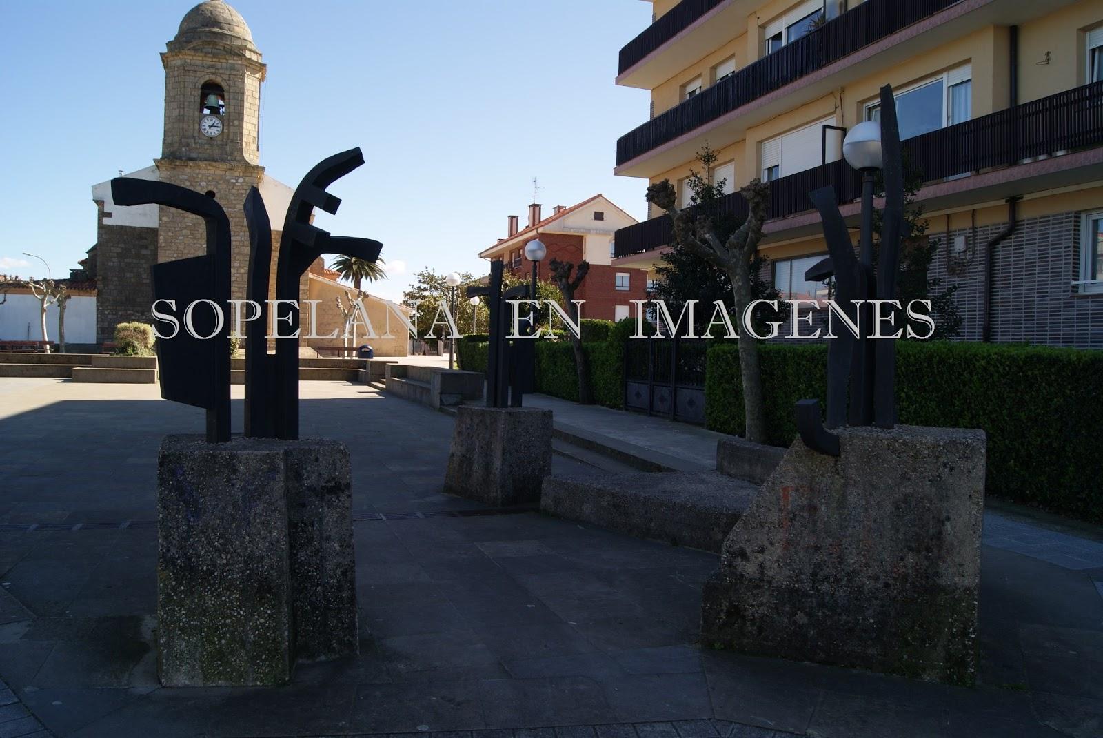 Sopelana en imagenes esculturas en sopelana ii - Piscinas de sopelana ...